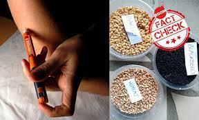 Cereals help in curing diabetes