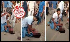 Brutal Assault Video From Bihar Goes Viral With False Claims