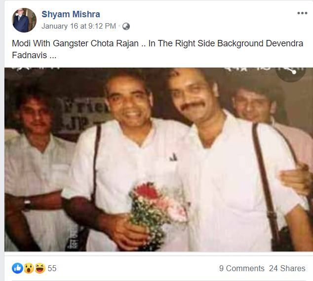 Rajan Modi fb viral