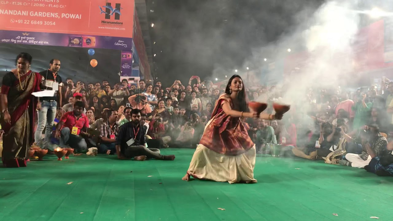 Video Of TMC MP Nusrat Jahan Performing Traditional Durga Puja Dance? Not Quite