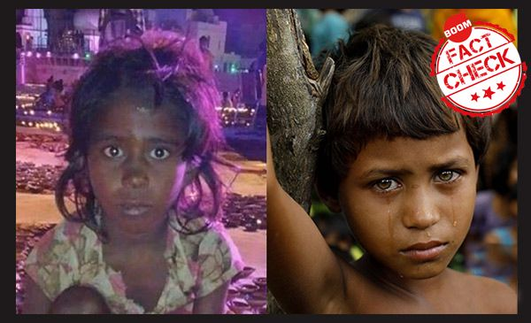 Two Girls Not Same-Rohingys Muslim