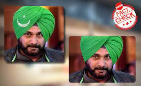 Photoshopped Image Of Navjot Singh Sidhu Revived